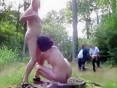Crazy Homemade clip with Vintage, Public scenes