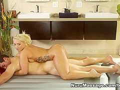 Amazing pornstars Tony Martinez, Cali Carter in Incredible Blonde, Massage adult clip