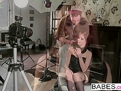 Babes - Step Mom Lessons - Jason Steel and Melanie Gold and Lullu Gun - Step-Family Portrait