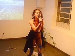 Naked on Stage 111 Larissa Marques ARTE