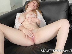 Exotic pornstar in Fabulous Facial, Masturbation adult movie