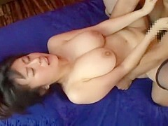 Amazing Japanese chick in Fabulous Threesomes, Fingering JAV movie