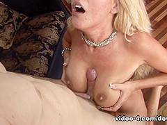 Horny pornstar Grace Evangeline in Best Blonde, MILF adult scene