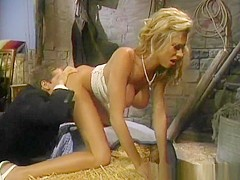 Best pornstar Briana Banks in fabulous blonde, big tits sex movie