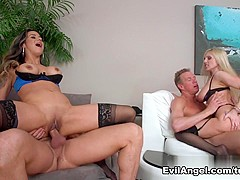 Incredible pornstars David Perry, Anissa Kate, Nadia Styles in Fabulous Big Ass, Cumshots porn video