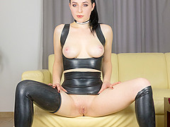 Czech VR Fetish 098 - Quinn in Latex