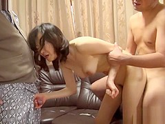 Crazy Japanese whore in Hottest Big Tits, Uncensored JAV scene