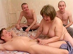 Incredible Amateur record with Group Sex, Mature scenes