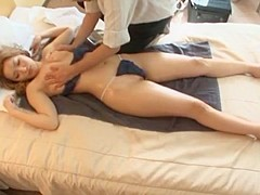 Hottest Japanese slut Rin Aikawa in Amazing Stockings/Pansuto JAV clip