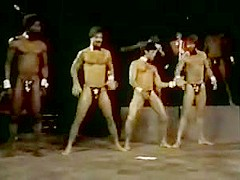 Extended version of classic male strippers