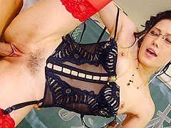 Yui Komine in Yui Komine multiple orgasms with toys and students - AviDolz