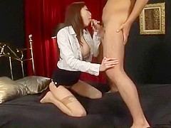 Incredible Japanese chick Maomi Nagasawa, Akari Minamino in Horny Mature, Cumshots JAV scene