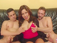 Laura Cruz in her first DP