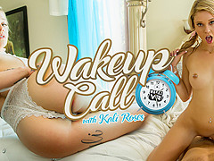 Kali Roses in Wake Up Call - WankzVR
