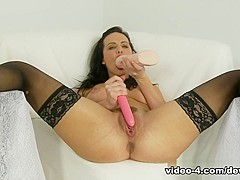 Horny pornstar Katie St. Ives in Amazing Brunette, Solo Girl sex movie