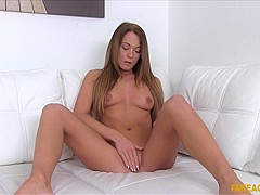 Incredible pornstars Angella Black, Justice Jade in Fabulous Redhead, College sex video