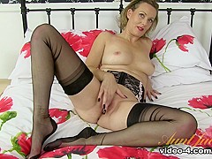 Hottest pornstar Betsy Blue in Best Stockings, Blonde porn movie