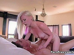 Crazy pornstar Elaina Raye in Horny Blonde, Small Tits sex video