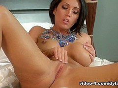 Fabulous pornstar Dylan Ryder in Exotic Solo Girl, Brunette sex scene