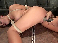 Carmen McCarthy in 18 Year Old Carmen Mccarthystruggles With Her First Ever Bondage Experience. - Ho