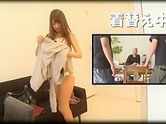 Hottest Japanese model Hitomi Kitagawa in Amazing JAV clip