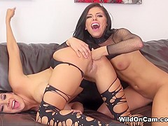 Missy Martinez & Raven Rockette in Missy Loves Raven - WildOnCam