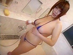 Hottest Japanese girl Towa Mitsui in Best Big Tits, Pissing JAV video