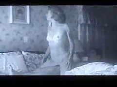 Milf with small tits rides cock reverse cowgirl style