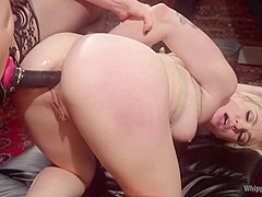 Dahlia Sky & Lorelei Lee in Blonde Bombshell Bound, Spanked And Anally Fisted - WhippedAss
