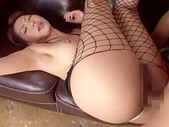 Best Japanese chick Shiori Tsukumi in Crazy Fetish, Threesomes JAV video