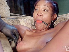 Lotus Lain in Bondage, Water Torment, And Squirting Orgasms - SadisticRope