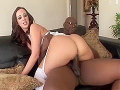 Hottest pornstar Jada Stevens in crazy big tits, brunette adult clip
