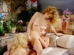 Exotic pornstars Nina Hartley and Alicia Monet in fabulous cunnilingus, blonde xxx movie