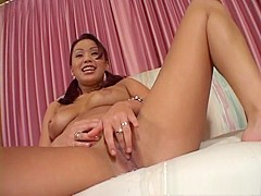 Hottest pornstar Avena Lee in crazy softcore, solo girl porn scene