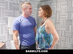 BadMILFS - Stepson Shares His GF with StepMom