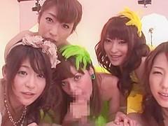 Fabulous Japanese slut Akiho Yoshizawa, Erika Kirihara, Cocomi Naruse in Hottest Blowjob/Fera, Group