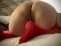 Her bbc addiction: dirty talking wife takes bbc