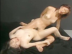 Amazing Japanese slut in Crazy Small Tits, Lesbian/Rezubian JAV video