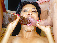 Byron Long & Lyla & Marco in Lyla Lei Gets Her Pussy Stretched By Two Cocks - BestGonzo