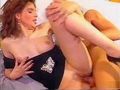 Incredible pornstar in fabulous small tits, blowjob sex scene