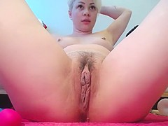 Private homemade solo, dildos/toys xxx record with horny Adore My Big Clit