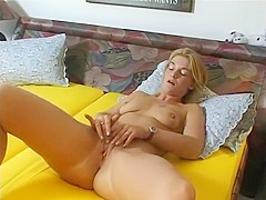 Amazing pornstar in crazy small tits, dildos/toys sex clip