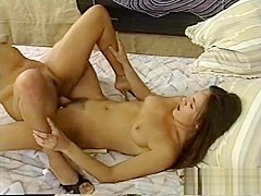 Incredible pornstar in exotic cunnilingus, vintage sex scene