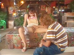 Amazing Japanese chick in Incredible Small Tits, Outdoor JAV movie