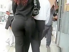 Latin woman with big ass