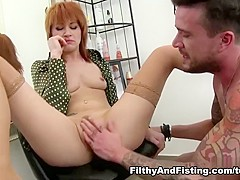 Amazing pornstar Lucy Bell in Hottest Redhead, Hardcore porn clip