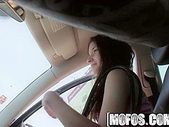 Mofos - Stranded Teens - Anita Berlusconi - Tangling Tongues the Hitchhiker