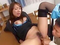 Exotic Japanese slut in Fabulous Big Tits, Doggy Style JAV movie