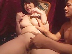 Incredible Japanese model in Amazing Shaved, Big Tits JAV clip