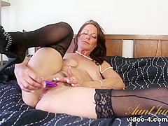 Incredible pornstar Mimi Moore in Fabulous Stockings, MILF adult scene